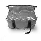 black waterproof pvc tarpaulin duffel dry bag