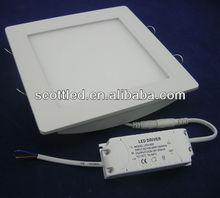 18w square led light panel in zhongtian