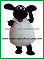 Fábrica de venta directa de ovejas agradable traje de la mascota/adultos traje de ovejas