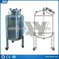 Vertikalen typ edelstahl warmwasser/Milch/chemischen lagertanks