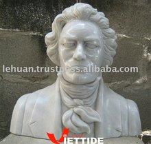Marbre buste sculpture