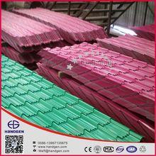 Villa Roof Use Color Coating Steel Tiles