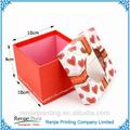 Custom design mode papier geschenk-box mit deckel