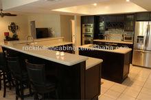 2014 China ROC Log Color Wood kitchen cabinet