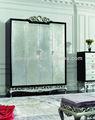 Oturma odası mobilya Hint dolap tasarımları/modern 4- kapı dolap dolap/ucuz metal ahşap dolap dolap yz-a7008