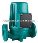 Hot water circulating pump