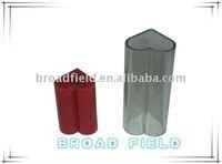 Variform plastic glass candelabra