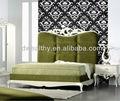 Francia alibaba alto cabeza de la planta madre / crema muebles de dormitorio de tela DF-0010