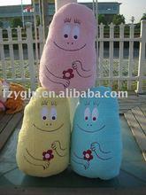 Custom CE stuffed plush cartoon children cushion pillows