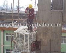 reinforced concrete demolishing