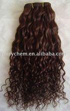 curly virgin Indian Hair Weaving/Weft