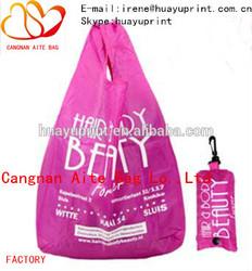 Nylon foldable bag & foldable shopping bag