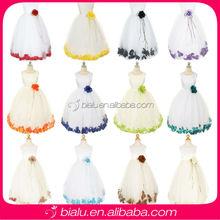 Kids Ball Gown Flower Girl Dress