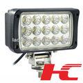 Led lampe de travail pour camion 12 V 24 V 48 W cristal LED auto LED lampe de travail