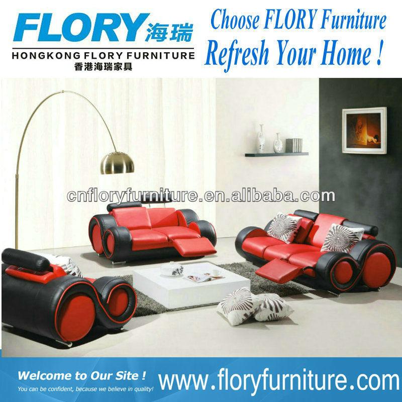 2013 Latest leather & PVC leisure recliner sofa F822#