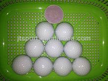 PU 2-Layer Rubber Golf Balls manufacture,golf balls.golf driving range balls