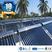 200L hot water /day swimming pool solar water heater