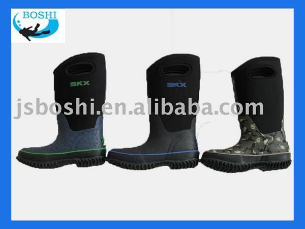 Quần áo trẻ em neoprene động / boot / động ngoài trời