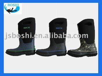 kid's neoprene boot/rain boot/outdoor boot