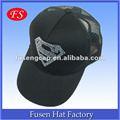 قبعة سوداء سائق شاحنة 5 لوحات، شبكة الرياضة كأب، نصف سقف شبكة