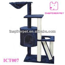 Cat Tree Furniture Condo House Scratcher Bed Perch