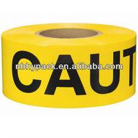 supply high quality hazard warning tape