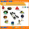 Universal use! factory high quality high brightness silicon rubber rechargeable12v 6w portable led work light