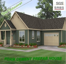 Hot selling modular house economic villa prefabricated house of home plans