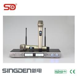 UHF high quality wireless microphone KARAOKE wireless microphone SU2410 SINGDEN