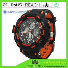 WAHSHUN branded High Quality Water Resistant OEM watch Digital Sport Wholesale China Watches