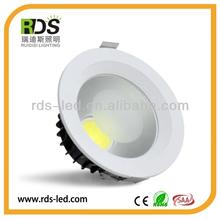 Aluminum COB 20w 1500-1550LM led ceiling pot lights