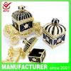 Wedding favors souvenir home decoration crowns jewelry box metal souvenir items(QF445)