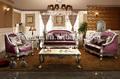 Moderne lila Gnadeindoor sofagarnitur Set/neue, moderne design sofa/chinaimportiert gartenmöbeln g1102