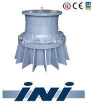 INI vertical hydraulic capstan