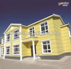 Cheap villa design model,easy assembling house