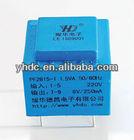 220V 12V Dry type AC power transformer of 220V transformer