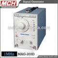 Basse fréquence du générateur de signaux mch mag-203d générateur de signal audio 0-1mhz 1 mhz générateur audio