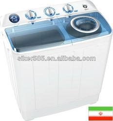 Twin tub clothes washing machine