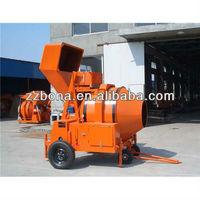 JZR500 diesel engine powered concrete mixer
