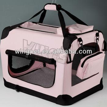Portable Dog Carrier Fabric Crate, Fashion Convenient Pet Carrier