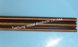 C65100 C65500 Silicon Bronze Threaded Rods