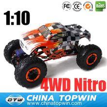 1/10th Scale 4WD Nitro Powered Monster Truck 94188 honda civic model car