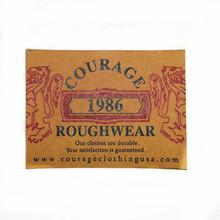 (L011) elegant chartaceous clothing labels