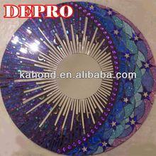 Sun,moon,star glitter glass mosaic pattern tile