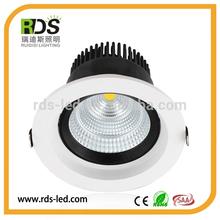 Recessed 10w katalog lampu downlight led