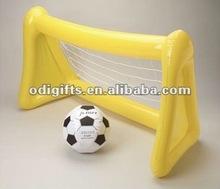 Inflatable Soccer Goal and Ball Set portable blow up soccer goal post ,inflatable soccer goal