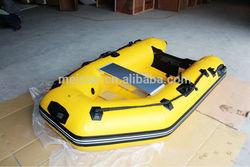 Inflatable Aluminium Motor Boat /inflatable Boat(PVC )/high quality fishing boat