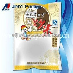 Printed food packaging pack plastic film