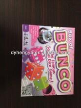 Bunco Board Game