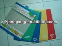 plastic chopping mat cutting baord folding flexible